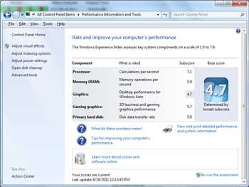 Как посмотреть полные характеристики ноутбука