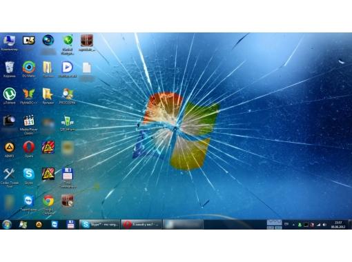 Как сделать заставку на ноутбуке на весь экран