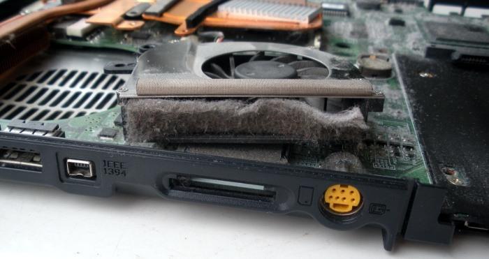 Очистить ноутбук от пыли в домашних условиях
