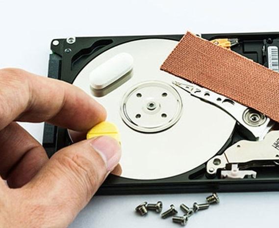 Ремонт жесткого диска ноутбука после падения своими руками 24