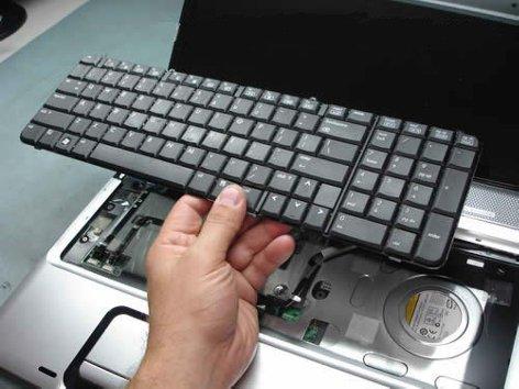 Как исправить клавиатуру на ноутбуке