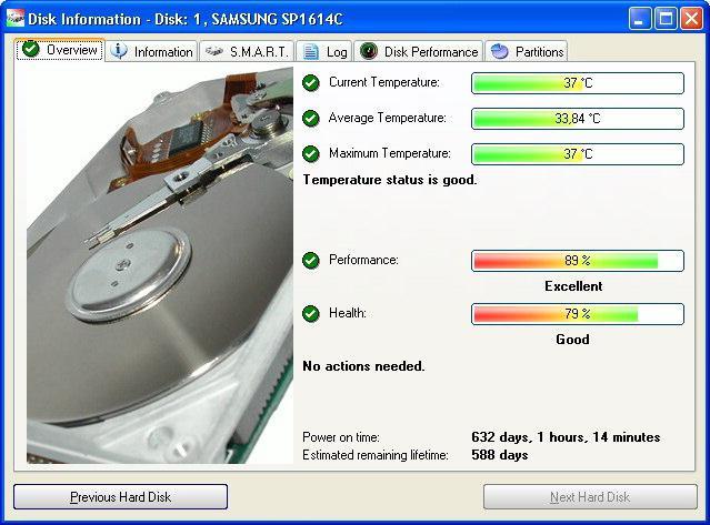 Как выполнить диагностику HDD