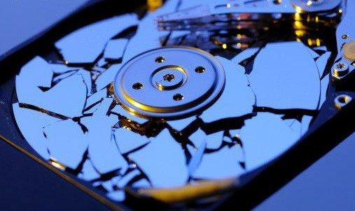 Основные поломки жестких дисков