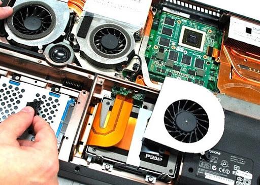 Замена или ремонт видеокарты ноутбука